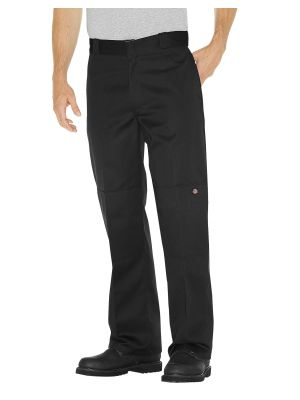 Dickies Loose Fit Double Knee Work Pant 85283 Black (BK)