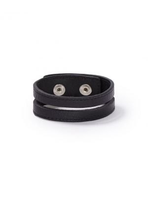 Stetson Leather Cutout Wristband 9108S