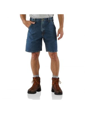 Carhartt Men's DENIM WORK SHORT B28