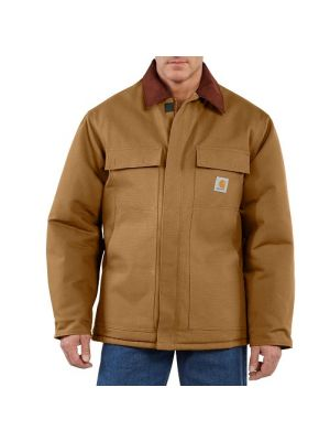 Carhartt Men's DUCK TRADITIONAL COAT / ARCTIC QUILT LINED C003