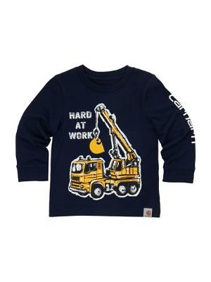 Carhartt BOYS HARD AT WORK TEE CA8750