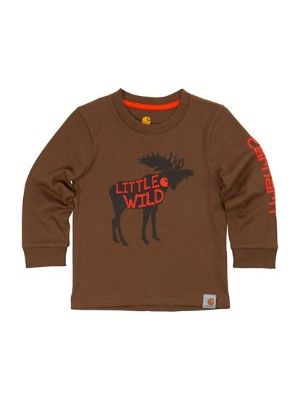 Carhartt BOYS LITTLE WILD TEE CA8752