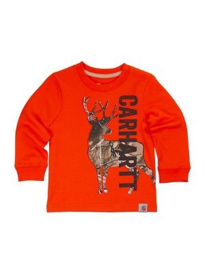 Carhartt BOYS CARHARTT DEER CAMO TEE CA8754