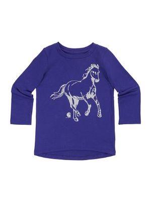 Carhartt WOMEN'S GLITTER HORSE TEE CA9540