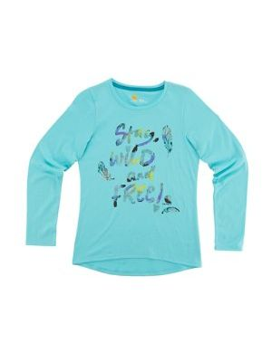 Carhartt GIRLS STAY WILD AND FREE TEE CA9548
