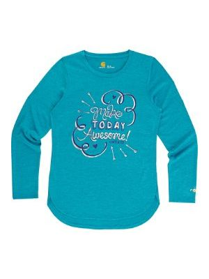 Carhartt GIRLS FORCE MAKE TODAY AWESOME TEE CA9511