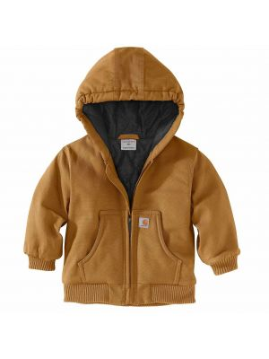 Carhartt Kid's ACTIVE JAC FLANNEL QUILT-LINED CP8430