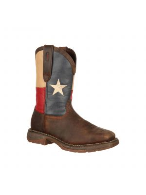 Durango Rebel Steel Toe Texas Flag Western Boot DB021