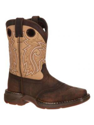 Durango Lil' Durango Big Kid Saddle Western Boot DBT0118
