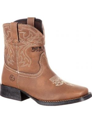 Durango Lil' Outlaw by Durango Little Kids' Embossed Western Boot DBT0176