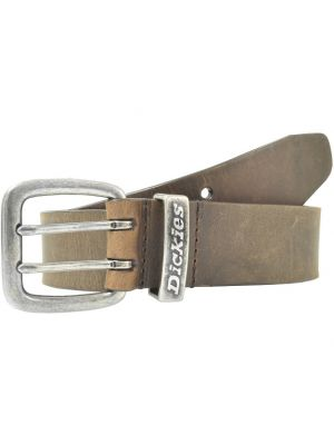 Dickies Mens Leather Belt with Double Prong Buckle DI02J5