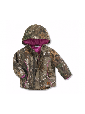 4e762a300 ... Carhartt GIRLS INFANT & TODDLER REALTREE XTRA® CAMO BOONE JACKET CP9481