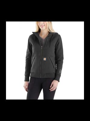 Carhartt Women's RAIN DEFENDER® ROCKLAND QUILT-LINED FULL-ZIP HOODED SWEATSHIRT 1103242