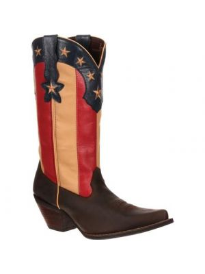 Durango Crush by Durango Women's Stars and Stripes Flag Boot DRD0060