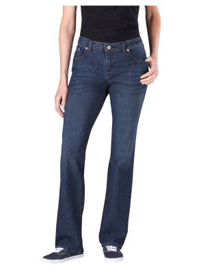Dickies Women's Relaxed Straight Leg Denim Jean FD136 Antique Dark 1 (ATD1)