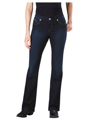 Dickies Women's Slim Boot Cut Denim Jean FD137 Antique Dark 1 (ATD1)