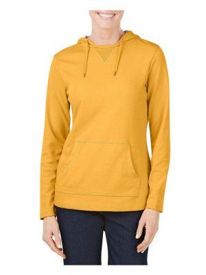 Dickies Women's Plaited Jersey Pullover Hoodie FL068