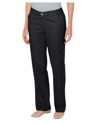Dickies Women's Premium Relaxed Straight Cargo Pant FP2372 Black (BK)