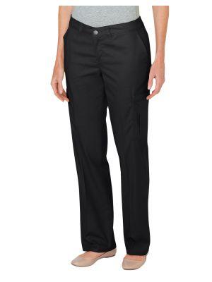 Dickies Women's Premium Relaxed Straight Cargo Pant FP2372 Black (BK)