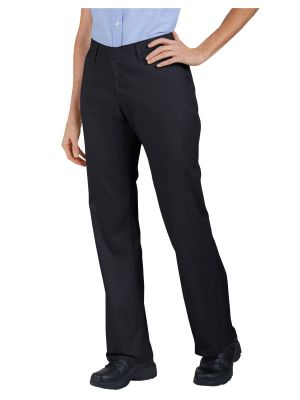 Dickies Women's Industrial Flat Front Twill Pant FP331 Black (BK)