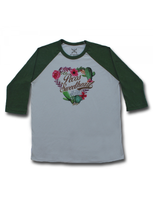 Hooey Shirts Pecos Women's Baseball Tee HT1293CROL