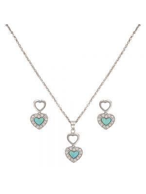 Montana Silversmiths River Lights in Love Jewelry Set JS2537