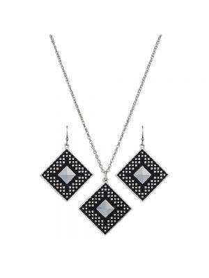 Montana Silversmiths CrossCut Sky Diamond Jewelry Set JS2628