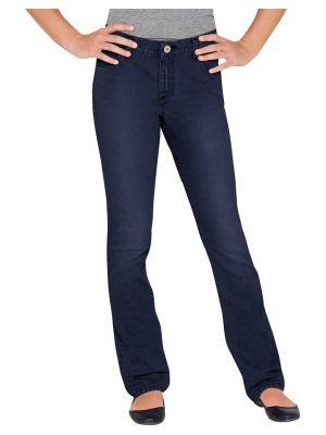 Dickies Girls' Slim Fit Boot Cut Denim Jean KD803