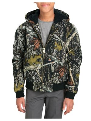 Dickies Boys 8-20 Sanded Duck Hooded Jacket KJ101
