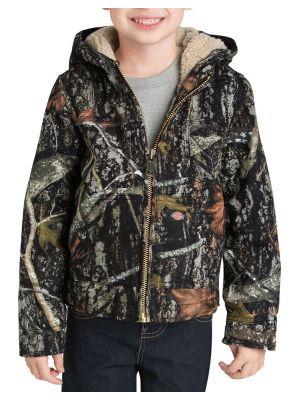 Dickies Boys' Sherpa Lined Duck Jacket 4-7 KJ3350