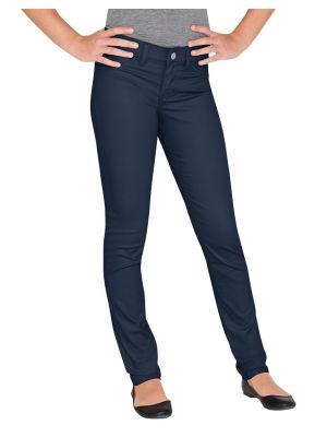 Dickies Girls' Super Skinny Fit Skinny Leg Pant KP802