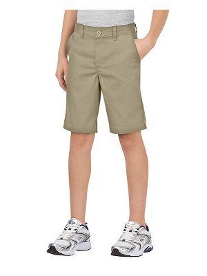 Dickies Boys' FlexWaist® Classic Fit Ultimate Khaki Short, 4-7 KR3700