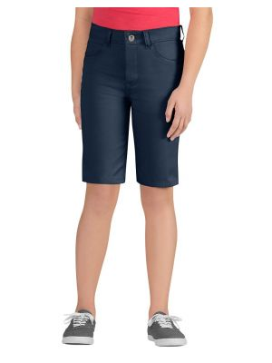 Dickies Girls' Skinny Fit 5-Pocket Stretch Twill Short, 7-20 KR560