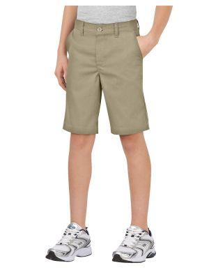 Dickies Boys' FlexWaist® Classic Fit Ultimate Khaki Short KR700
