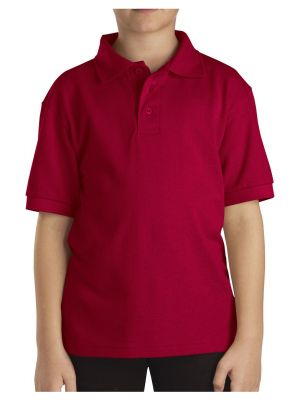 Dickies Kids' Short Sleeve Pique Polo KS4552