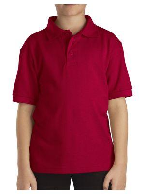 Dickies Kids' Short Sleeve Pique Polo, 8-20 KS4552