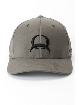 Cinch MENS GRAY FLEXFIT CAP MCC0627728