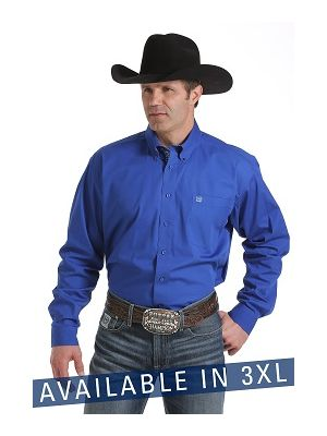 Cinch 3XL SOLID - BUTTON DOWN MTW104372X