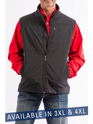 Cinch 3XL & 4XL Mens Black Bonded Concealed Carry Vest MWV108201X