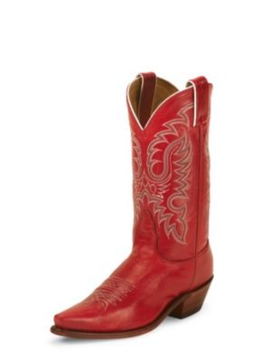 NOCONA WOMEN'S RED SOFT ICE LEGACY WESTERN BOOTS LD2736