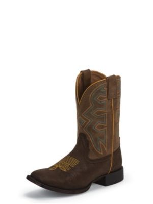 NOCONA KIDS' BROWN RODEO LET'S RODEO® COWBOY BOOTS NK5053