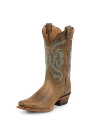 NOCONA WOMEN'S OLD WEST TAN FASHION WESTERN BOOTS NL4036