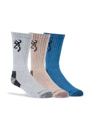 Browning MEN'S COTTONWOOD SOCKS 8