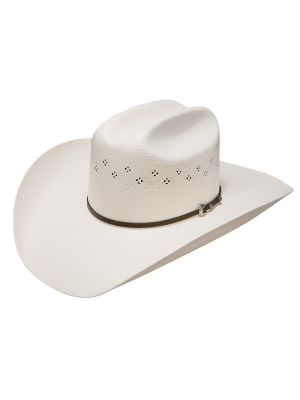 Resistol 6X Black Mt Qualifier Collection Straw Cowboy Hat