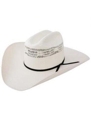 Resistol 7X Denison Double RR Collection Straw Cowboy Hat