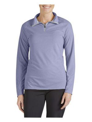 Dickies Women's Performance Quarter Zip drirelease® Pullover SLF603