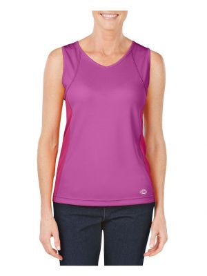 Dickies Women's Performance Two-Tone Tank SSF601