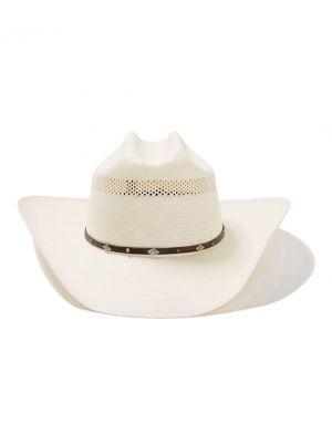 3589c3983b2bd ... Stetson Men s Lobo 10X Straw Cowboy Hat SSLOBO3042