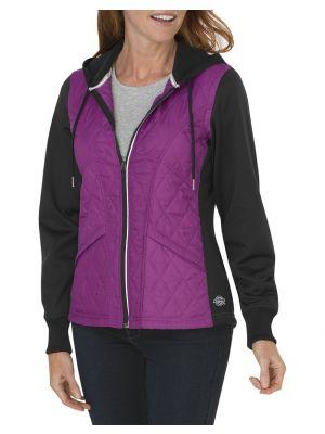 Dickies Women's Performance Work Tech Fleece Puffer Jacket SWF602