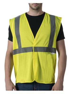Walls Men's ANSI II Mesh Safety Vest W38225